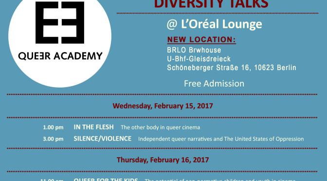 TEDDY Diversity Talks presented by L´Oréal Paris @ BRLO Brwhouse
