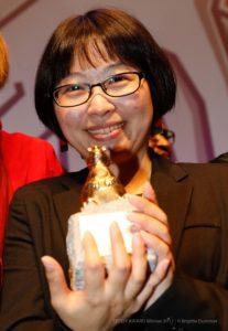 "TEDDY AWARD winner Hui-chen Huang, director ""Small Talk""-Best Documentary Film"