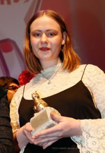"TEDDY AWARD winner Lia Hietala, director ""My Gay Sister""-Best Short Film"