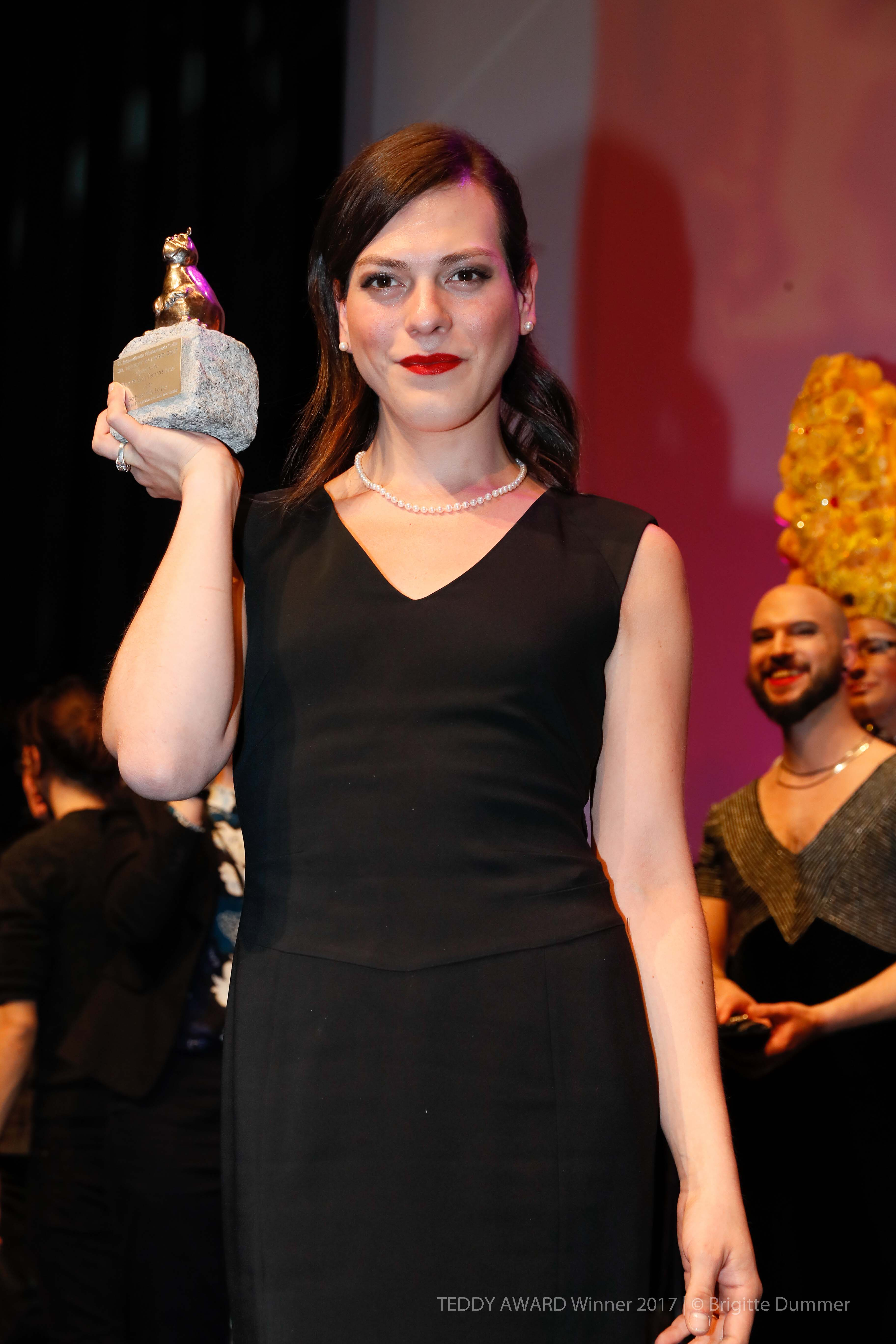 "Daniela Vega, actress ""A phantastic Woman""-Best Feature Film"
