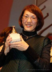 "TEDDY AWARD winner 2017  Naoko Ogigami, Director ""Close-Nit""-Special Jury Award,"