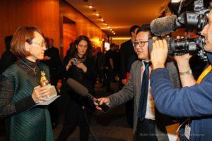 "TEDDY AWARD winner Naoko Ogigami, director ""Close-Nit""-Special Jury Award,"