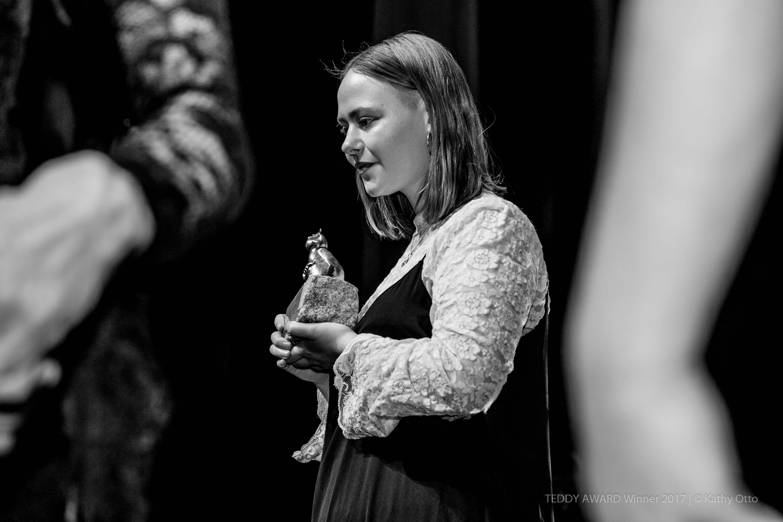 "TEDDY AWARD winner 2017 Lia Hietala, director ""My Gay Sister""-Best Short Film"